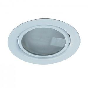 Встраиваемый неповоротный светильник с защитным стеклом (лампа в комплект не входит) NOVOTECH FLAT 369344