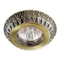 Стандартный встраиваемый неповоротный светильник NOVOTECH FORZA 370248