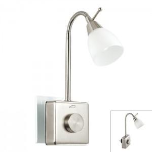 Светильник-ночник (в розетку) светодиодный с выключателем - диммером NOVOTECH ПРОМО NIGHT LIGHT 357324