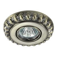 Встраиваемый стандартный поворотный светильник NOVOTECH ПРОМО LIGNA 370304