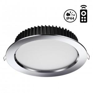 Встраиваемый диммируемый светильник на пульте управления со сменой цветовой температуры DRUM 358303