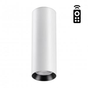 Накладной диммируемый светильник на пульте управления со сменой цветовой температуры DEMI 358312
