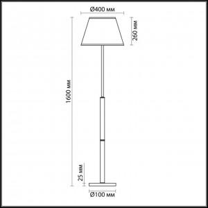 Торшер LUMION ROBIN 3703/1F