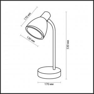 Настольная лампа ODEON LIGHT MANSY 2410/1T