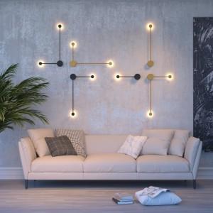 Настенный светильник ODEON LIGHT SATELLITE 3902/5WB