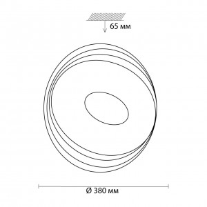 Настенно-потолочный светильник SONEX SEKA 3027/DL